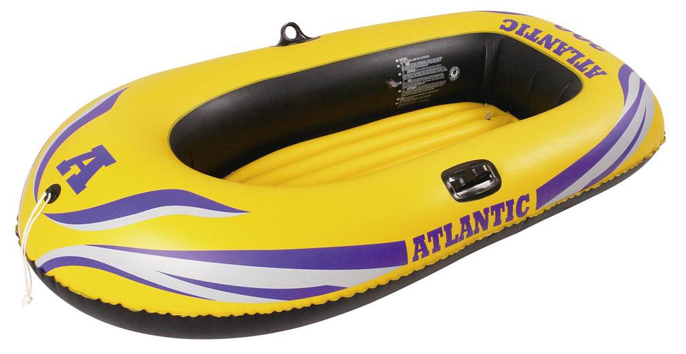 Лодка надувная Jilong Atlantic Boat 100 Set, с веслами и насосом, цвет: желтый, 150 см х 100 см лодка надувная jilong atlantic boat 100 set с веслами и насосом цвет желтый 150 см х 100 см