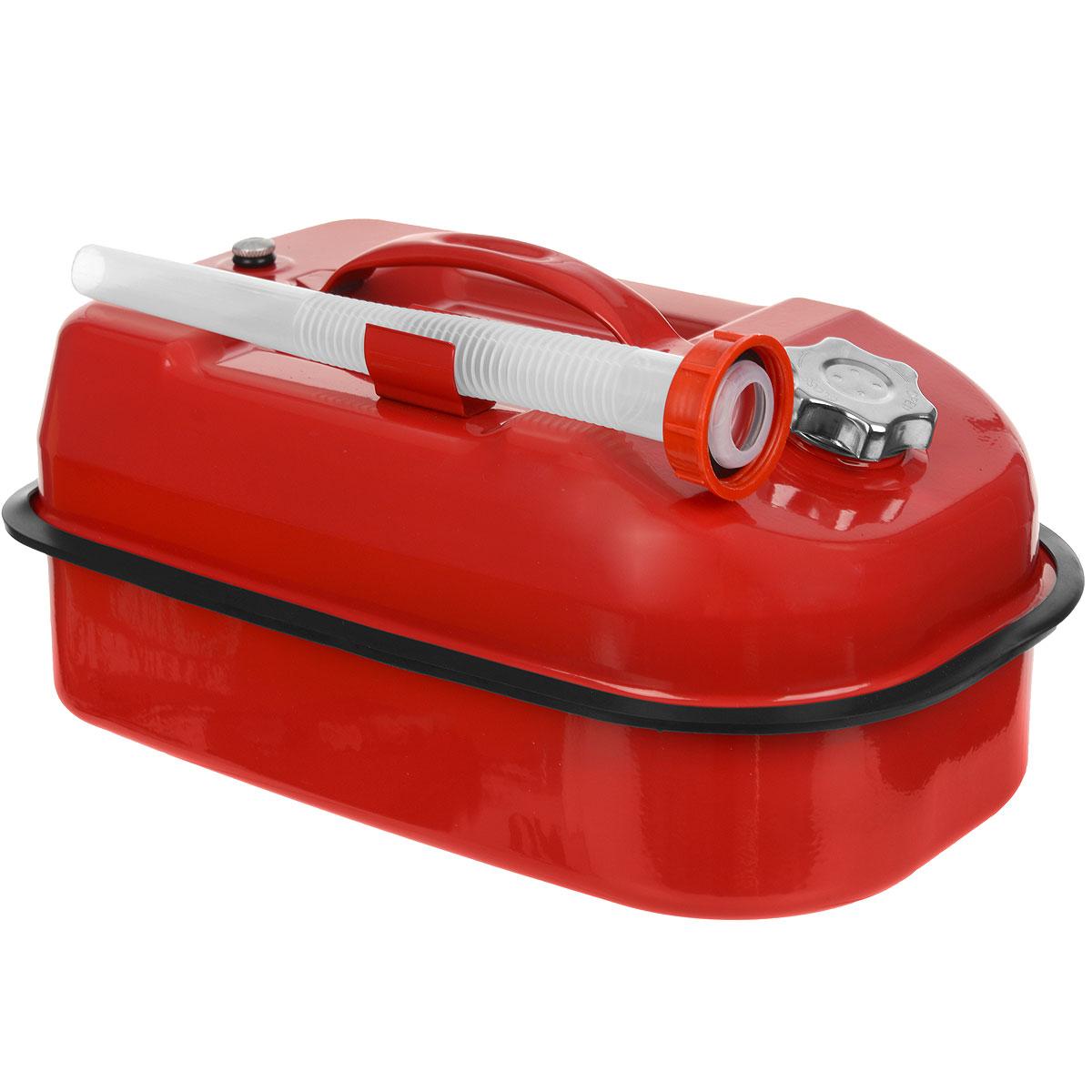 Канистра стальная Autoprofi, горизонтальная, 10 л канистра для топлива dollex с носиком 10 л