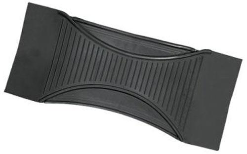 Коврик-перемычка Autoprofi Luxury, морозостойкий, цвет: черный. Размер 60 х 26 смTER-555 BKУниверсальный коврик-перемычка для заднего ряда Autoprofi Luxury изготовлен из морозостойкого термопласта-эластомера, сохраняющего эластичность до температуры -50 °С. Данный материал также отличается отсутствием характерного для резины запаха и устойчив к воздействию агрессивных веществ, таких как масло, топливо или химические реагенты.Коврик обладает высокой износостойкостью и небольшим весом, благодаря чему его несложно вытащить из салона, очистить и уложить обратно. Насечки для разреза на поверхности коврика помогают корректировать размер и форму изделия, адаптируя их под профиль багажника. Характеристики:Материал:термопласт-эластомер. Цвет:черный. Размер коврика: 60 см х 26 см х 0,5 см. Температура использования: от -50 до +50°С. Размер упаковки: 61 см х 26 см х 0,5 см.