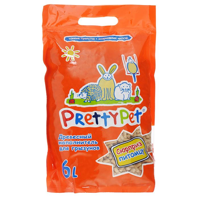 Наполнитель для грызунов и птиц Pretty Pet, древесный, с морковными чипсами, 6 л620079-6Наполнитель для грызунов и птиц Pretty Pet - это 100% натуральный экологически чистый наполнитель, изготовленный из скандинавского дерева. Этот уникальный продукт разработан специально для всех видов грызунов и птиц. Наполнитель прекрасно послужит в качестве растительной подстилки, которая эффективно справится с неприятными запахами. В составе наполнителя содержатся опилки, которые не образуют пыли. Специальные длинные тонкие гранулы округлой формы не травмируют нежные лапки зверьков. Безопасны при случайном попадании в желудок животного. С таким наполнителем питомца можно оставить на долгое время, так как наполнитель содержит сублимированные кусочки моркови. Морковь - это основной источник бета-каротина, который улучшает зрение, кожу, шерсть, иммунитет. Содержит 7 главных витаминов жизни B1, B2, РР, A, C, P, D.Состав: 100% скандинавское дерево, сублимированная морковь.Объем: 6 л.Влажность: 6-8%.Диаметр гранул: 5,25 мм.Впитываемость: 3 л.Товар сертифицирован.