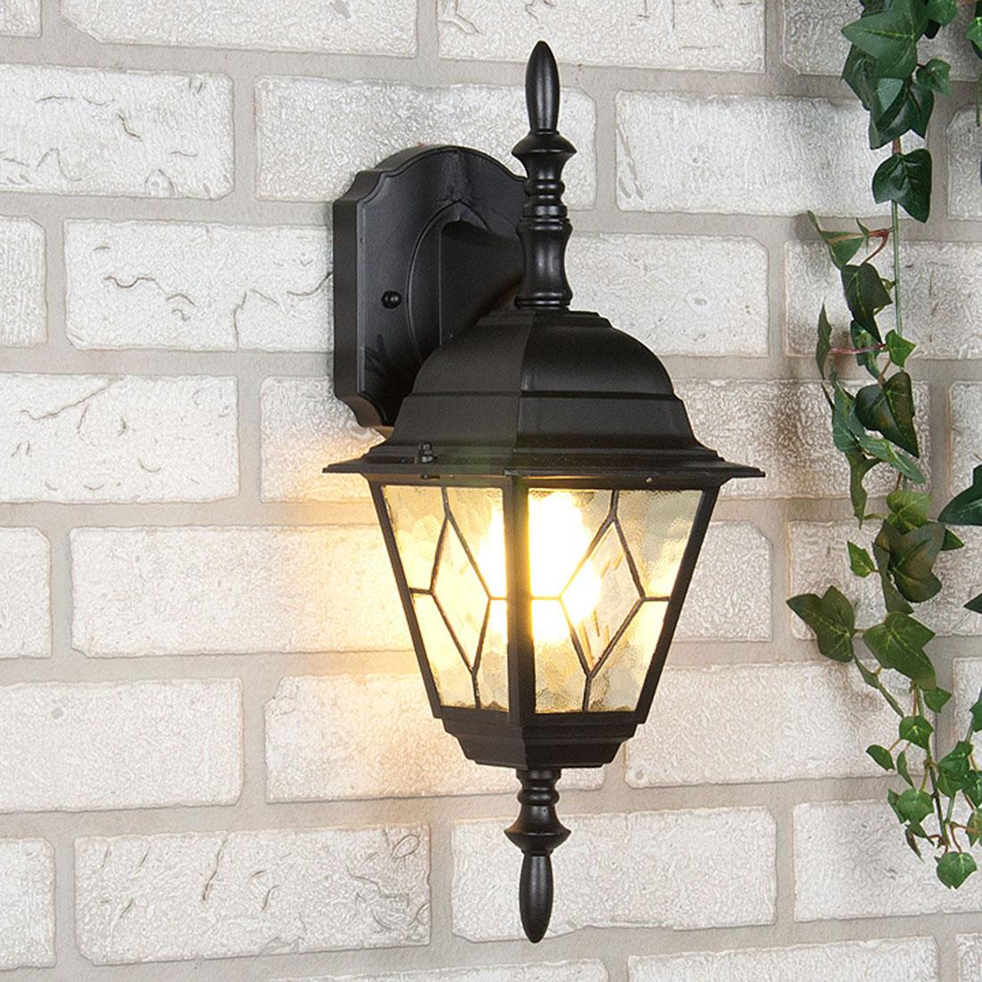 Уличный светильник Elektrostandard Vega D черныйa025019