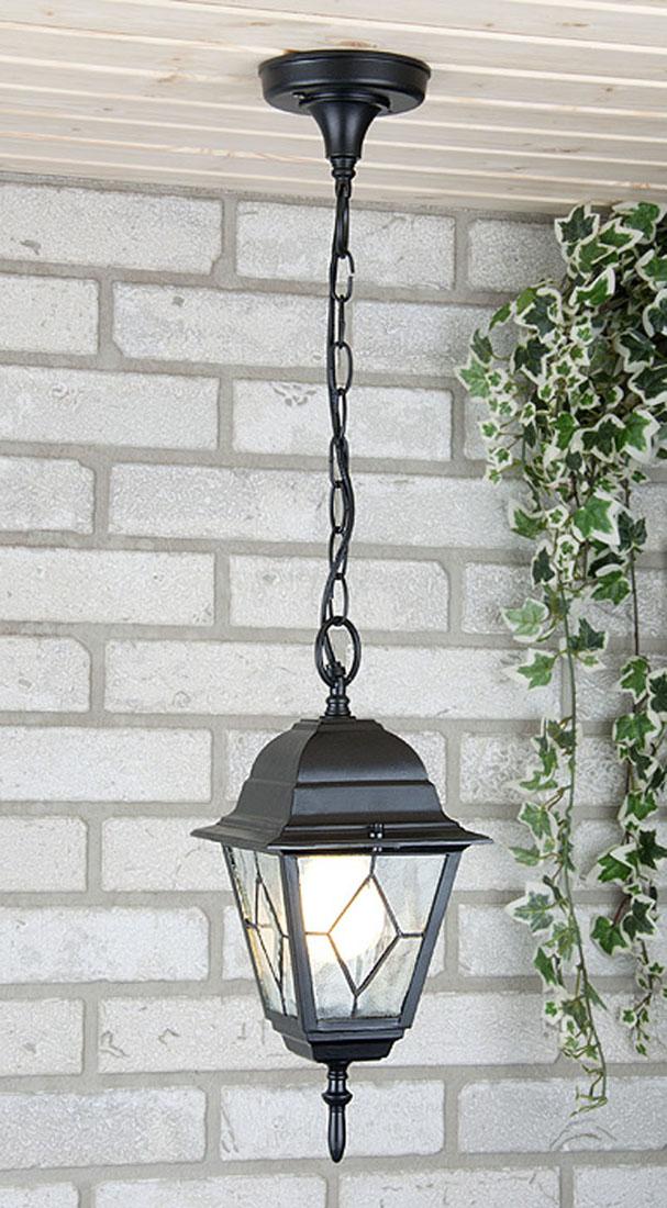 Уличный светильник Elektrostandard Vega H черныйa025021