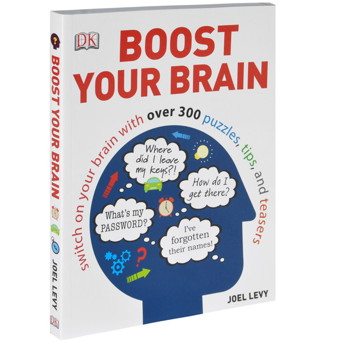 Boost Your Brain over 50 brain games