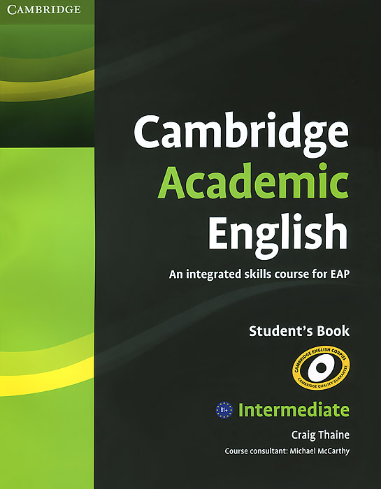 Cambridge Academic English: Intermediate: Student's Book effect of learning on development of process skills towards science