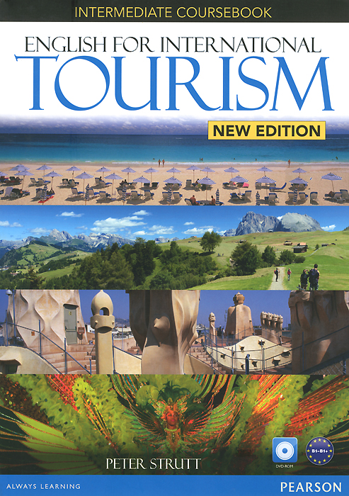English for International Tourism: Intermediate: Coursebook (+ DVD-ROM) morris c flash on english for tourism second edition