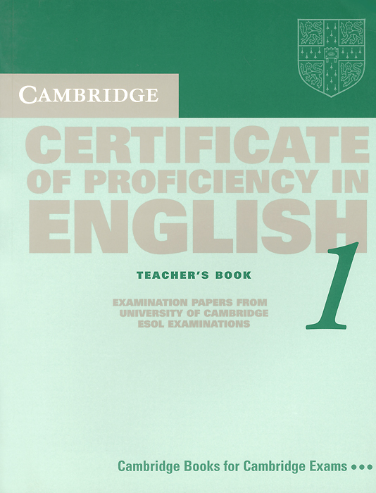 Cambridge Certificate of Proficiency in English 1: Teacher's Book: Examination Papers from the University of Cambridge Local Examinations Syndicate electric kettles concealed stainless steel heating element fast boil water teapot samovar teaculture 1 7l