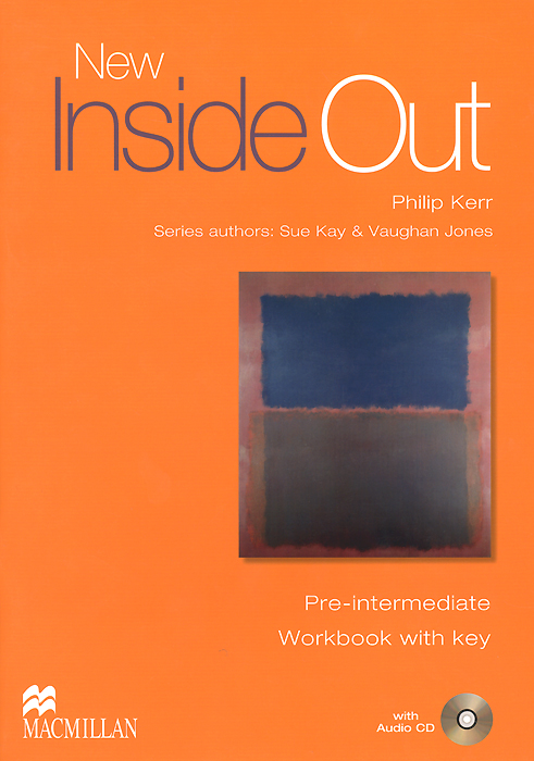 New Inside Out: Pre-Intermediate: Workbook with Key (+ CD-ROM) global pre intermediate workbook dvd rom