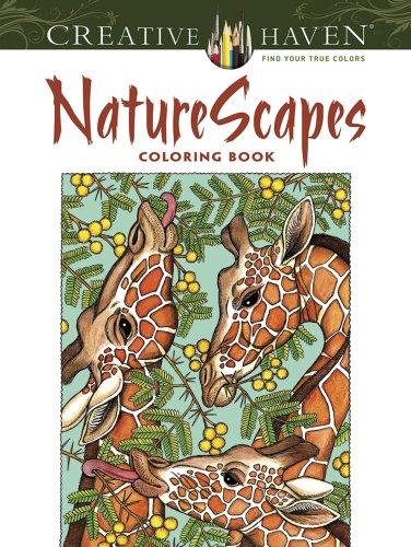 Creative Haven NatureScapes Coloring Book (Creative Haven Coloring Books) the peacocks of baboquivari