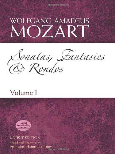 Sonatas, Fantasies and Rondos Urtext Edition: Volume I (Dover Classical Music for Keyboard and Piano Four Hands) иво погорелич alexander scriabin piano sonata no 2 franz liszt sonata in b minor ivo pogorelich