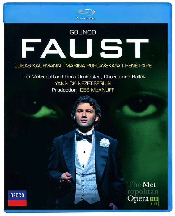 Jonas Kaufmann. Gounod: Faust (Blu-ray) faust