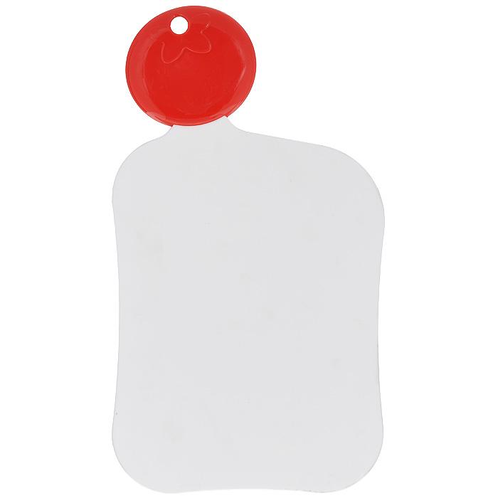 Доска разделочная Premier Housewares Помидорка, цвет: белый, 21 х 17 см1207910Разделочная доска Premier Housewares Помидорка, выполненная из белого пластика, станет незаменимым аксессуаром на вашей кухни. Такая доска прекрасно подойдет для нарезки любых продуктов. Доска оснащена оригинальной ручкой в виде помидора, на которой расположено отверстие для подвешивания на крючок.Функциональная и простая в использовании разделочная доска Premier Housewares Помидорка разнообразит и освежит интерьер кухни, а также прослужит вам долгое время. Характеристики:Материал: пластик. Цвет: белый. Размер доски (без учета ручки): 21 см х 17 см х 0,4 см. Длина ручки: 7 см. Артикул: 1207910.
