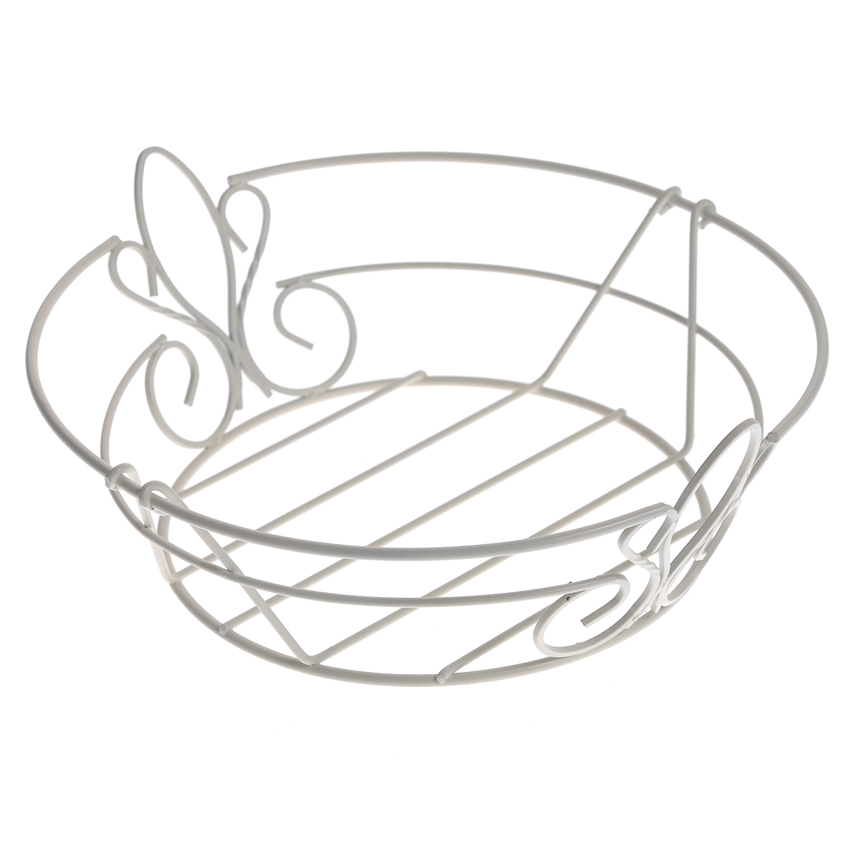 Фруктовница De Lis, цвет: белый0508284Современный дизайн фруктовницы De Lis, изготовленной из стали цвета, идеально впишется в интерьер современной кухни. Фруктовница выполнена в виде чаши, стенки которой состоят из металлических прутьев составляющих красивый узор.Оригинальный дизайн фруктовницы обеспечит эффектную подачу к столу фруктов, выпечки и десерта, подчеркнет торжественность праздника.Рекомендуется мыть вручную. Характеристики:Материал:сталь. Размер: 26 см х 24 см х 9 см. Размер упаковки: 27 см х 26,5 см х 9 см. Производитель: Великобритания. Артикул:0508284.