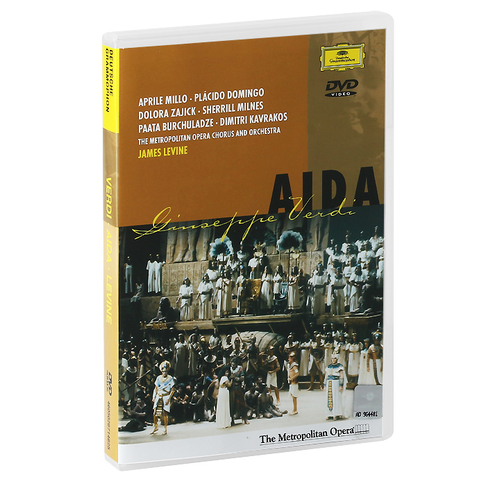 Verdi, James Levine: Aida puccini james levine la boheme