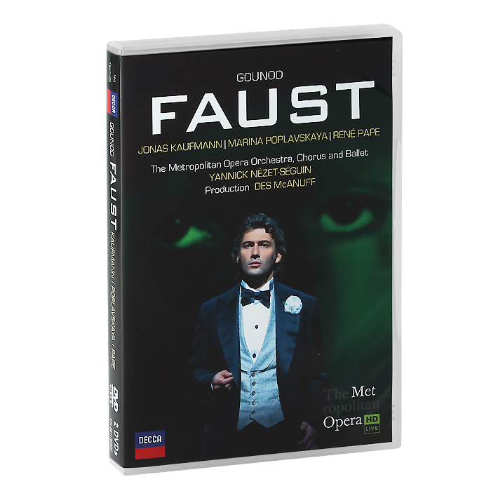 Jonas Kaufmann. Gounod: Faust (2 DVD) page turners 10 joe faust