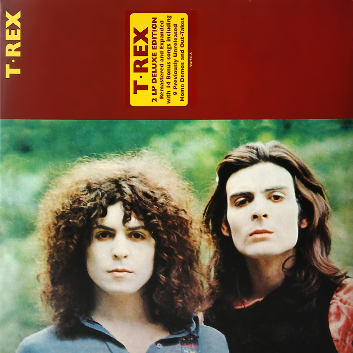 T. Rex T. Rex T. Rex. Deluxe Edition (2 LP) t rex t rex a beard of stars 2 lp