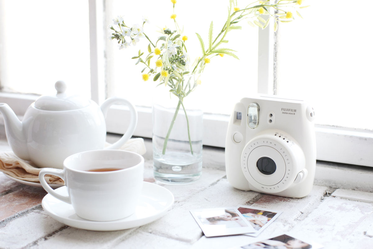 Fujifilm Instax Mini 8, Whiteфотоаппарат Fujifilm