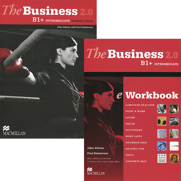 The Business 2.0 Intermediate B1+: Student's Book. The Business 2.0 Intermediate B1+: eWorkbook (комплект из 2 книг + DVD-ROM)