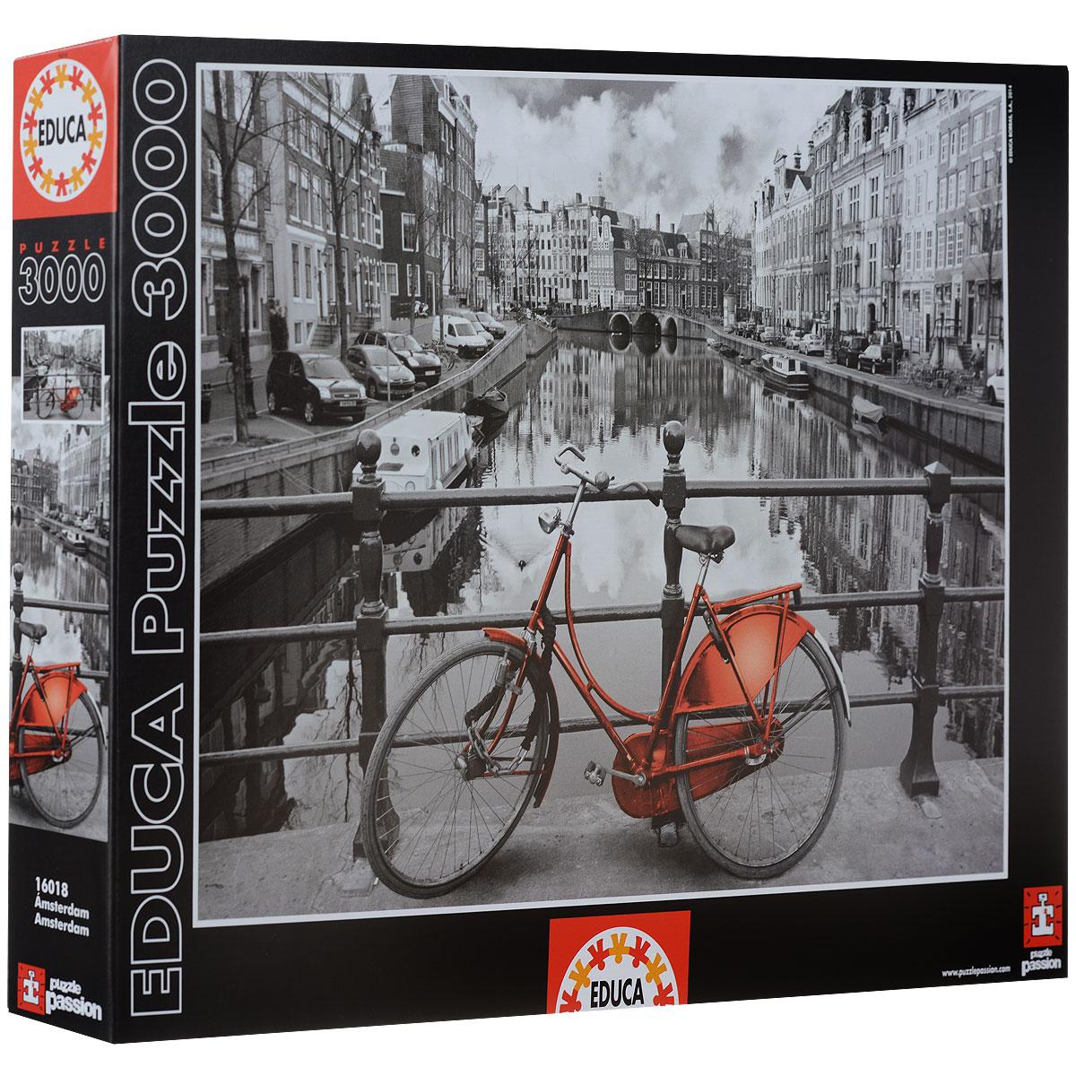 Амстердам. Пазл, 3000 элементов
