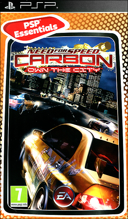 need for speed carbon own the city essentials psp Need for Speed: Carbon Own The City. Essentials (PSP)