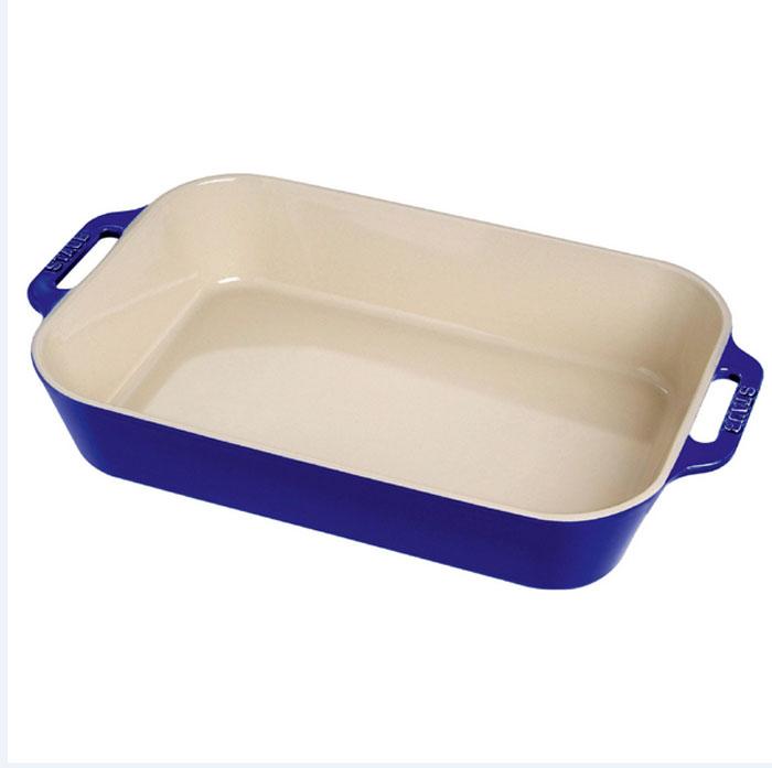"""Форма для выпечки """"Staub"""", цвет: темно-синий, 34 х 24 см"""