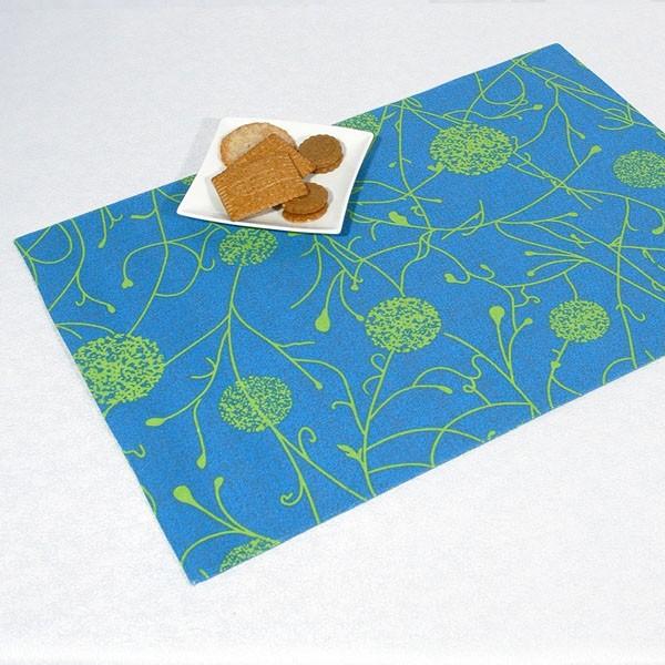 Салфетки под столовые приборы Schaefer, цвет: синий, 35 см х 50 см, 2 шт салфетки duni салфетки duni комплект 2 шт