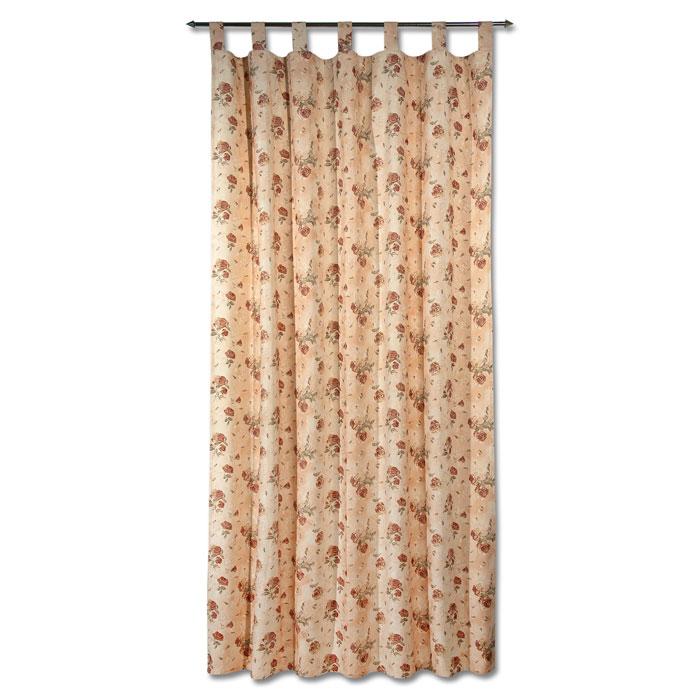 Гардина Schaefer на петлях и шторной тесьме, цвет: светло-бежевый, 140 х 245 см 07340-59607340-596Гардина Schaefer выполнена из полиэстера и хлопка светло-бежевого цвета и оформлена рисунком роз. Гардина имеет и петли для использовании ее на круглом карнизе и пришитую шторную ленту для подвешивания ее на крючках. Гардина прекрасно подойдет для подвешивания на настенный карниз.Оригинальное оформление гардины внесет разнообразие и подарит заряд положительного настроения. Характеристики:Материал: 65% хлопок, 35% полиэстер. Размер гардины (Ш х В): 140 см х 245 см. Цвет: светло-бежевый. Ширина петли: 5 см. Длина петли: 11,5 см. Немецкая компания Schaefer создана в 1921 году. На протяжении всего времени существования она создает уникальные коллекции домашнего текстиля для гостиных, спален, кухонь и ванных комнат. Дизайнерские идеи немецких художников компании Schaefer воплощаются в текстильных изделиях, которые сделают ваш дом красивее и уютнее и не останутся незамеченными вашими гостями. Дарите себе и близким красоту каждый день!
