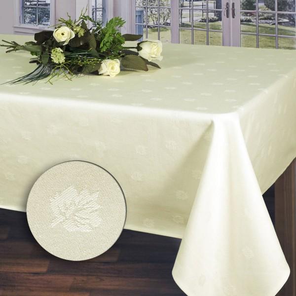 Скатерть Schaefer, прямоугольная, цвет: кремовый, 130 x 190 см. 07361-434 скатерти schaefer скатерть 100 100см 100