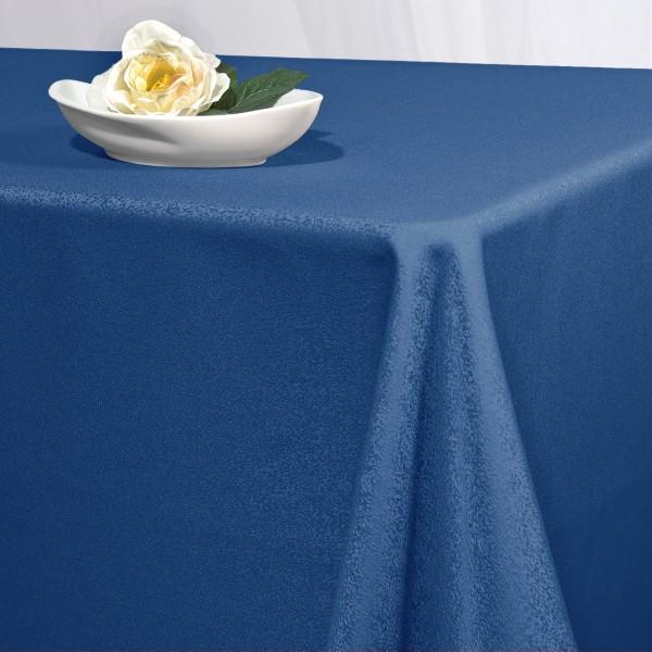 Скатерть Schaefer, прямоугольная, цвет: темно-синий, 130  x 190 см. 4170 скатерть schaefer прямоугольная цвет темно синий 130 x 220 см 4043