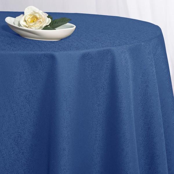 Скатерть Schaefer, овальная, цвет: темно-синий, 160  x 220 см. 4170/FB скатерть овальная жаклин цвет бежевый 250х140 см 884131