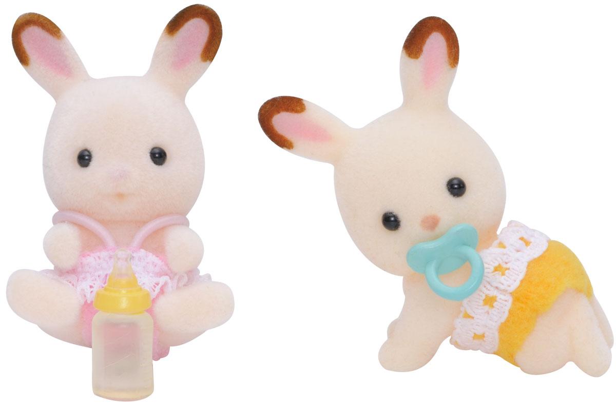 Sylvanian Families Набор фигурок Шоколадные Кролики-двойняшки