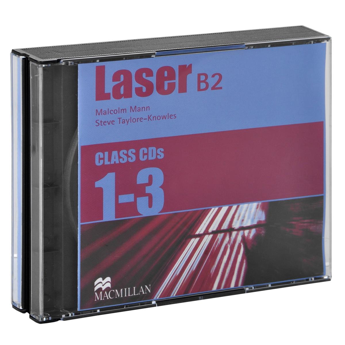 Laser B2: Class CDs (аудиокрус на 3 CD) destination b2 grammar