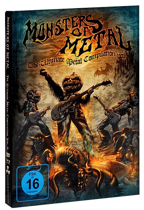 Various Artists: Monsters Of Metal - The Ultimate Metal Compilation Vol. 9 (Blu-ray + DVD) korpiklaani korpiklaani noita