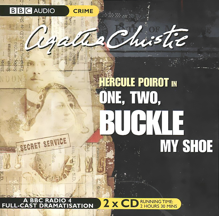 One, Two, Buckle My Shoe (аудиокнига на 2 CD)