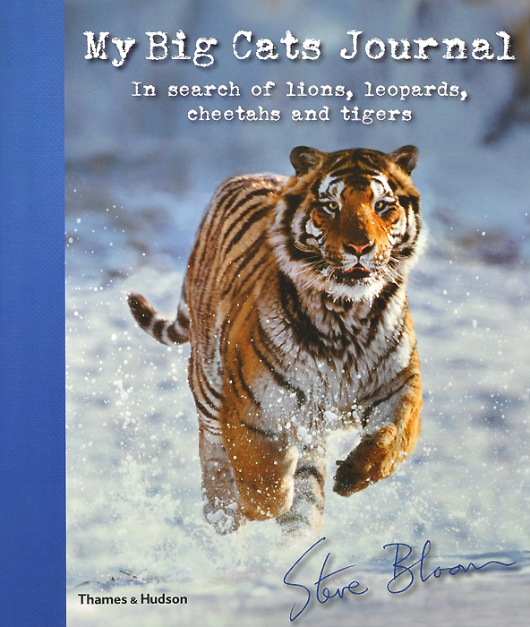 My Big Cats Journal: In Search of Lions, Leopards, Cheetahs and Tigers wild cats т в