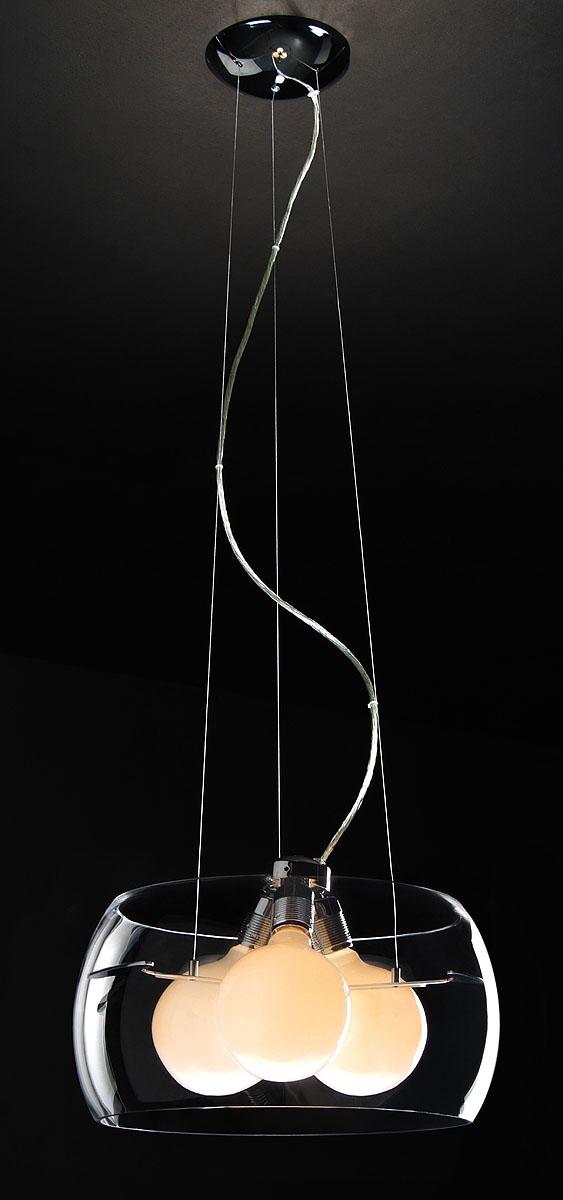 Подвесной светильник ST-LUCE SL512.113.03SL512.113.03хром, E27 3*100W.Максимальная площадь помещения:22 м2.Минимальная высота: 45 см.Максимальная высота: 130 см.Диаметр плафона: 40 см.