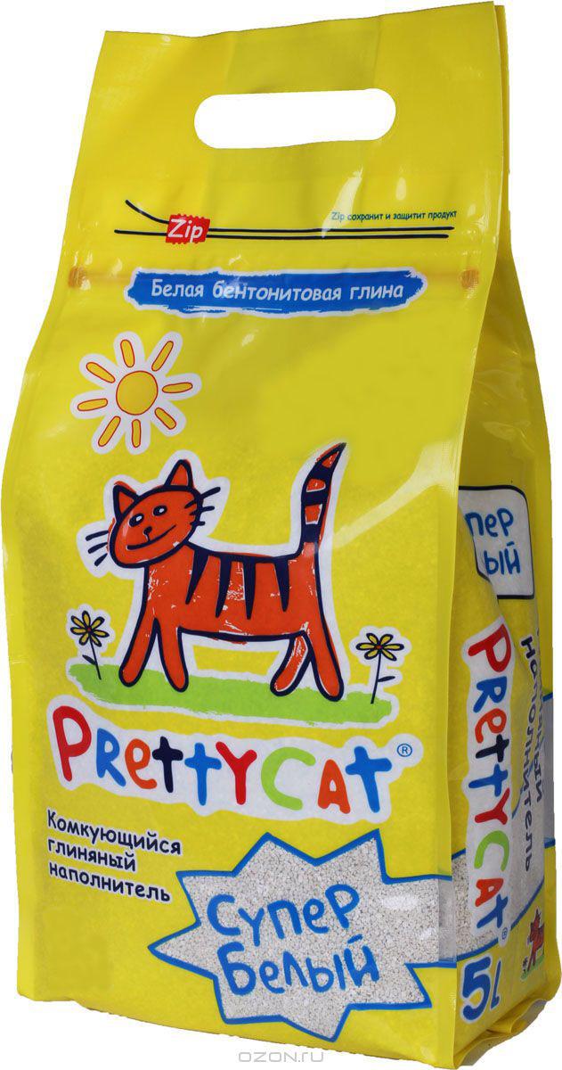 Наполнитель для кошачьих туалетов PrettyCat Супер белый, комкующийся, 2 кг. 620048620048Наполнитель для кошачьих туалетов PrettyCat Супер белый - это 100% натуральный комкующийся наполнитель. Изготовлен из белой бентонитовой глины, лучшего европейского качества. Впитывает до 400% влаги, прекрасно комкается в идеально ровные шарики. Уничтожает запахи и обеспечивает двойное обеспыливание.Материал: белая бентонитовая глина.Вес: 2 кг.Диаметр гранул: 0,6 - 1,7 мм.