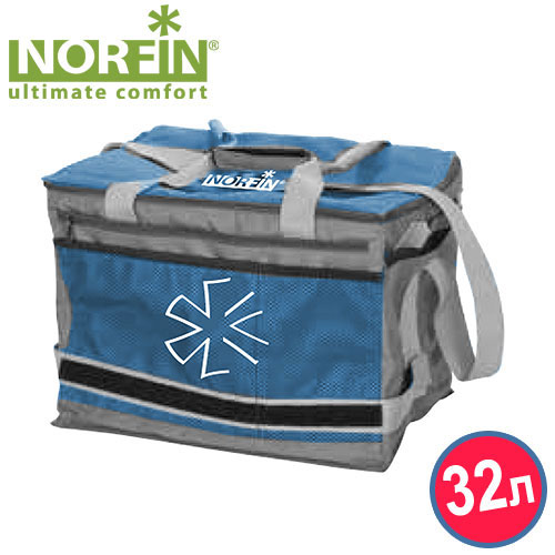 "Термосумка Norfin ""Luiro-L NFL"", цвет: голубой"