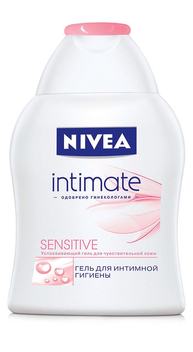 NIVEA Гель для интимной гигиены Sensitive 250 мл10012511Гель для интимной гигиены Nivea Sensitive специально разработан для ухода за чувствительной кожей интимных участков тела. Экстракт алоэ-вера обладает увлажняющими свойствами, ухаживает за чувствительной кожей и снимает раздражение. Мягкая формула с молочной кислотой поддерживает естественный уровень рН, дарит ощущение чистоты и свежести в течение всего дня.Не содержит щелочного мыла и красителей;Одобрен гинекологами;Подходит для ежедневного использования. Характеристики: Объем: 250 мл. Производитель: Германия. Артикул: 81051.Товар сертифицирован.