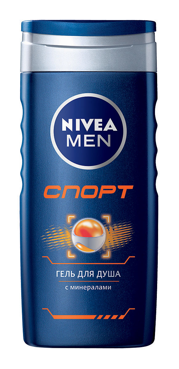 NIVEA Гель для душа Спорт 250 мл100133101Гель для душа Спорт для мужчин - с освежающим ароматом лайма для тела и волос. Неповторимое ощущение свежести после душа. Новый мужской аромат лайма пробуждает чувства, а легкая пена кристально-синего геля, обогащенного минералами, стимулирует Вашу кожу и восстанавливает силы после физических нагрузок. Второе дыхание Вашей кожи после каждого приема душа. pH-нейтрально;одобрено дерматологами. Характеристики:Объем: 250 мл. Производитель: Россия. Артикул:100133101. Товар сертифицирован.