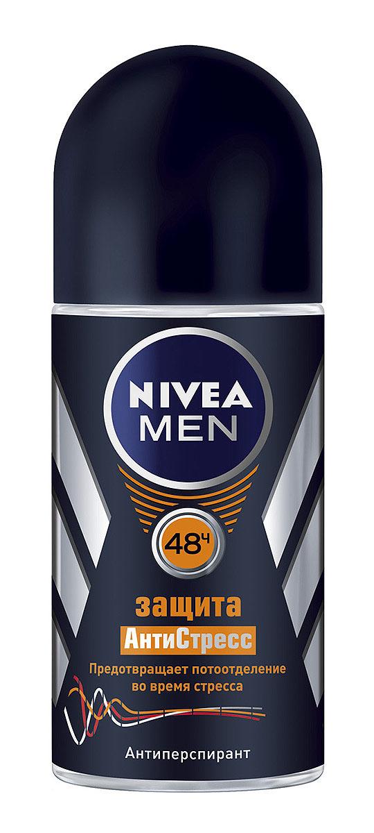"""NIVEA Антиперспирант шарик """"Защита АнтиСтресс"""" 50 мл"""