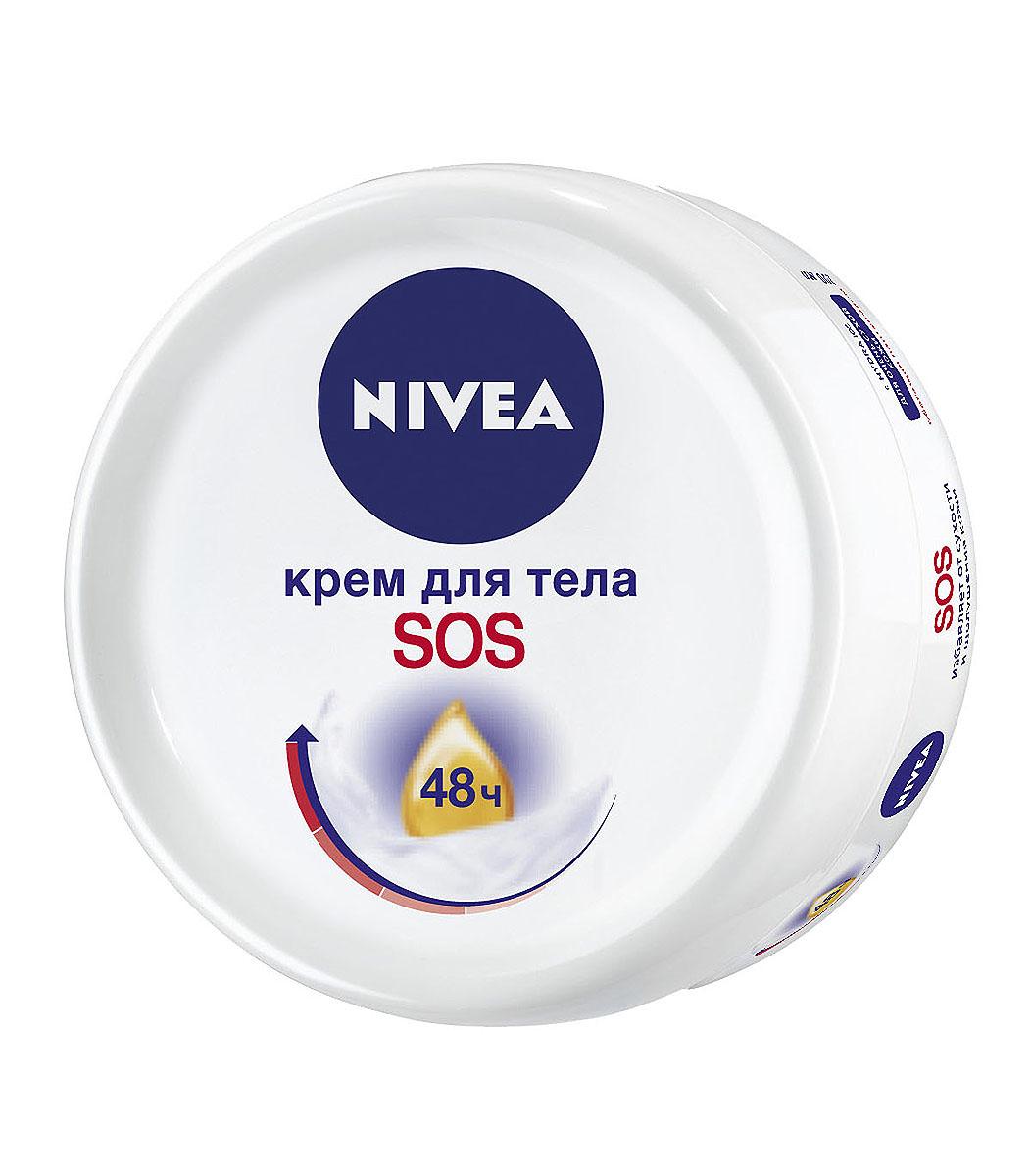 NIVEA SOS-крем для тела 200 мл topicrem sos крем для тела восстанавливающий 200 мл