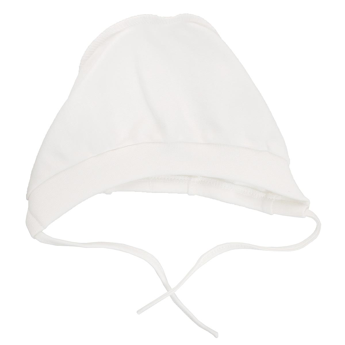 Чепчик Lucky Child, цвет: молочный. 10-10Б. Размер 47 пижамы lucky child пижама
