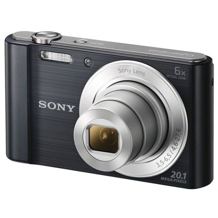 Sony Cyber-shot DSC-W810, Black цифровой фотоаппарат sony cyber shot dsc w810 black