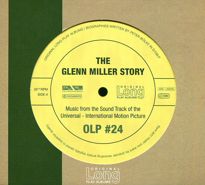 Zakazat.ru The Glenn Miller Story. Music From The Motion Picture Soundtrack