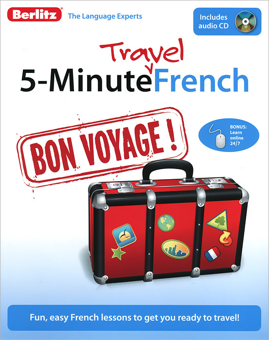 5-Minute Travel French (+ CD) patricia