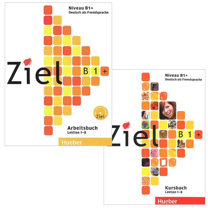 Ziel: Niveau B1+ (комплект из 2 книг + CD-ROM) ziel b2 deutsch als fremdsprache niveau b2 1 band 1 lection 1 8 аудиокурс на cd rom