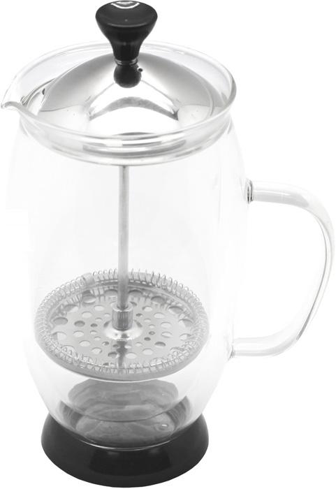 Кофейник френч Hans & Gretchen, с двойной колбой, цвет: серебристый, 0,6 л. 14YS-822814YS-8228Кофейник френч-пресс Hans & Gretchen предназначен для приготовления кофе и чая, методом настаивания и отжима. Колба из боросиликатного стекла жароустойчива, выдерживает температуру 100°С ,не впитывает запахи. У кофейника удобная ручка, плотная закрывающаяся крышка. Френчпресс идеально подходит для приготовления кофе, а в модели с двойной колбой напиток надолго сохраняется теплым.