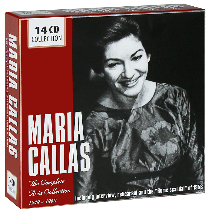 Мария Каллас Maria Callas. The Complete Aria Collection 1949-1960 (14 CD) secret warriors the complete collection volume 1