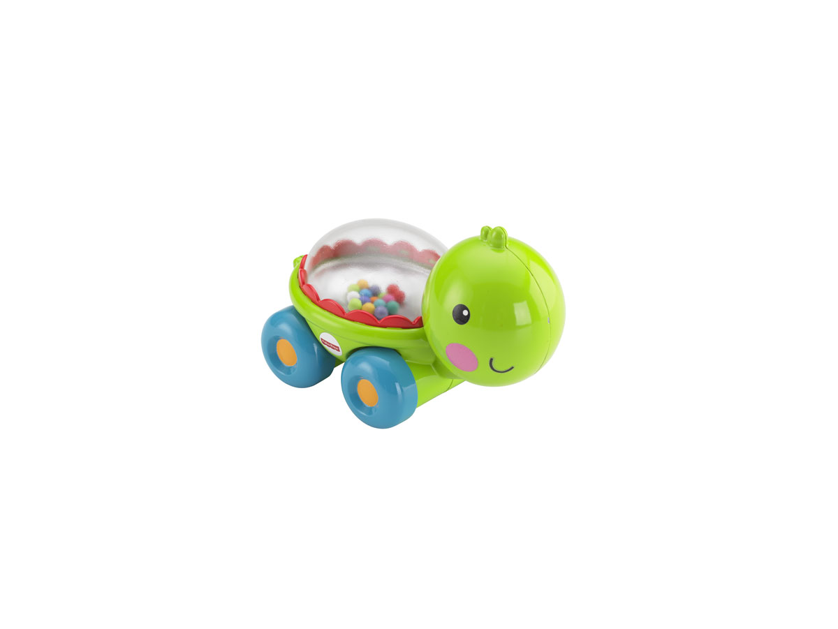 Fisher-Price Развивающая игрушка Черепашка с прыгающими шариками fisher price развивающая игрушка тигренок с прыгающими шариками