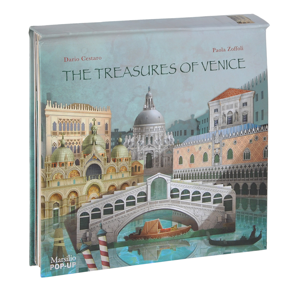 The Treasures of Venice Pop-Up wunderkammer